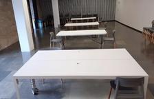 La biblioteca de Solsona obre una sala d'estudi per a vuit persones