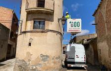 Tarroja inicia los trabajos para renovar el alumbrado público