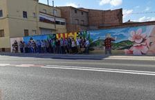 Castelló inaugura mural y rehace edificios medievales