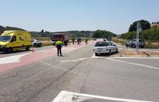 Tres heridos en una colisión múltiple entre Balaguer y Camarasa