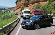 Seis heridos, uno de gravedad, en una colisión en la C-13 en Talarn