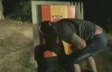 Vandalismo contra el monumento de Companys en El Tarròs