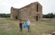 Presentación ayer en el monasterio de Santa Maria de les Franqueses del nuevo Festival Llavors.