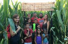 ¡Entra en el primer laberinto de maíz de Catalunya!