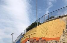 Mural dedicado a la obra de Joan Barceló en Menàrguens