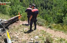 VÍDEO | Dos víctimas mortales en el accidente de un helicóptero en el Alt Urgell