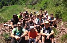 Els participants en el curs, durant l'activitat.