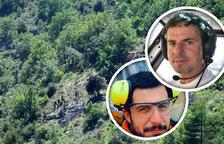 Mueren los dos tripulantes de un helicóptero de La Seu d'Urgell al estrellarse en Fórnols