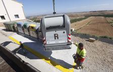 El Segrià inverteix 118.000 € a comprar 53 contenidors per a set municipis