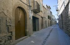 Imagen de viviendas de Mas de Bondia, en el municipio de Montornès de Segarra.