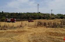 Un foc calcina 1,6 hectàrees a la Granadella