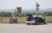 Heridos un conductor de un quad y un motorista en el Segrià