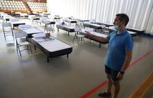 Acord per derivar afectats pel Covid a centres del Baix Segre