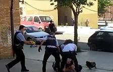 VÍDEO | Els Mossos immobilitzen amb una Taser un veí a Lleida