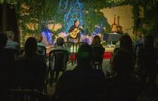 El guitarrista leridano Miquel Hortigüela abre los conciertos en Cal Prim de Verdú