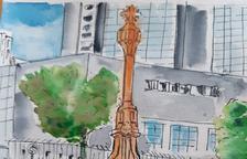 Dibuixem Ponent: la creu dels Tres Tombs
