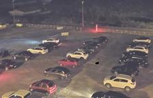 Seixanta vehicles omplen l'autocine de Fraga i n'hi haurà més