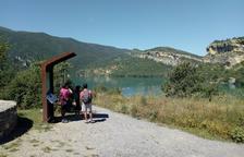 Reobre el pàrquing de la Masieta de Mont-rebei