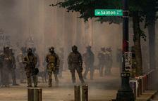 Nova protesta a Portland, i calen foc a una comissaria