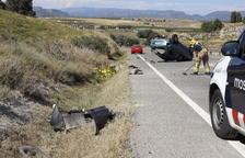 El conductor muerto en La Sentiu es un vecino de Foradada de 34 años