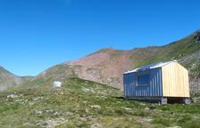 Nova cabana per a pastors a Tavascan