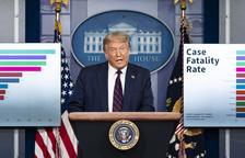 """Trump suggereix ajornar les presidencials per risc d'un suposat """"frau"""""""