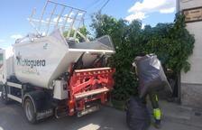 La Noguera recoge 8.000 kg de restos vegetales en 1 mes