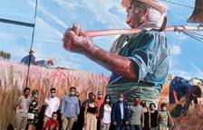 La Fuliola presenta el mural dedicado al Segar i el Batre