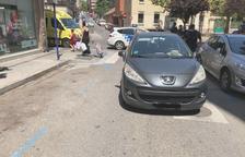 Herida al ser atropellada en un paso de peatones en la Mariola
