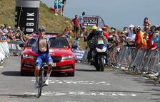 Evenepoel guanya i és nou líder de la Vuelta a Burgos