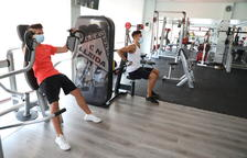 Els gimnasos de Lleida tornen a obrir les portes