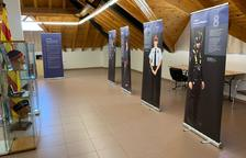 El consistorio acoge una muestra sobre uniformes de los Mossos, incluida en el aniversario del festival.