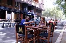 La Paeria talla una quinzena de carrers a Lleida perquè bars i restaurants puguin muntar taules i cadires a l'exterior