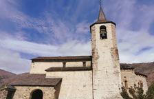 L'espasa i la creu al castell de València d'Àneu