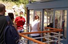 Quinientos viajeros estrenan el teleférico de Estany Gento