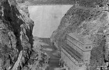 La central de Camarasa cumple hoy cien años desde su puesta en funcionamiento