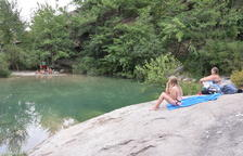Nargó prohibeix aquest estiu el bany a les basses del Codó.