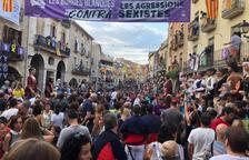 Multitud de personas asistieron a los actos de las fiestas mayores de Les Borges Blanques el año pasado.
