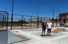 Vila-sana ya tiene listas las pistas de pádel y de skate