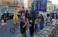 La Festa sobre Rodes va tenir una primera sessió a la tarda dirigida als més joves del municipi.