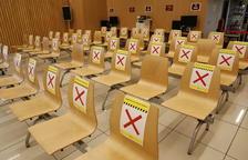 La sala de espera de la Oficina Municipal de Atención Ciudadana, que atenderá con cita previa.