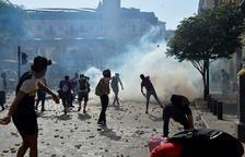 Recaudan 250 millones para Beirut mientras continúan las protestas