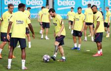 El Barça, amb tot a Lisboa