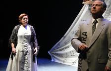 """""""Absències"""", una de las obras representadas en Mollerussa."""