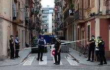 Tres víctimes mortals en l'incendi d'un pis pastera a la Barceloneta