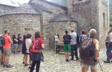El románico de La Vall de Boí, con el aforo reducido y deja fuera a visitantes