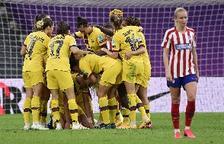 Hamraoui mete al Barcelona en semifinales de la Champions