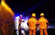 Fallece una motorista en una salida de vía en la N-230 en Vielha