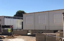 Almacelles extrema la seguridad por las obras en el Antònia Simó