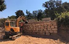 Montgai ultima la mejora del acceso al pabellón municipal